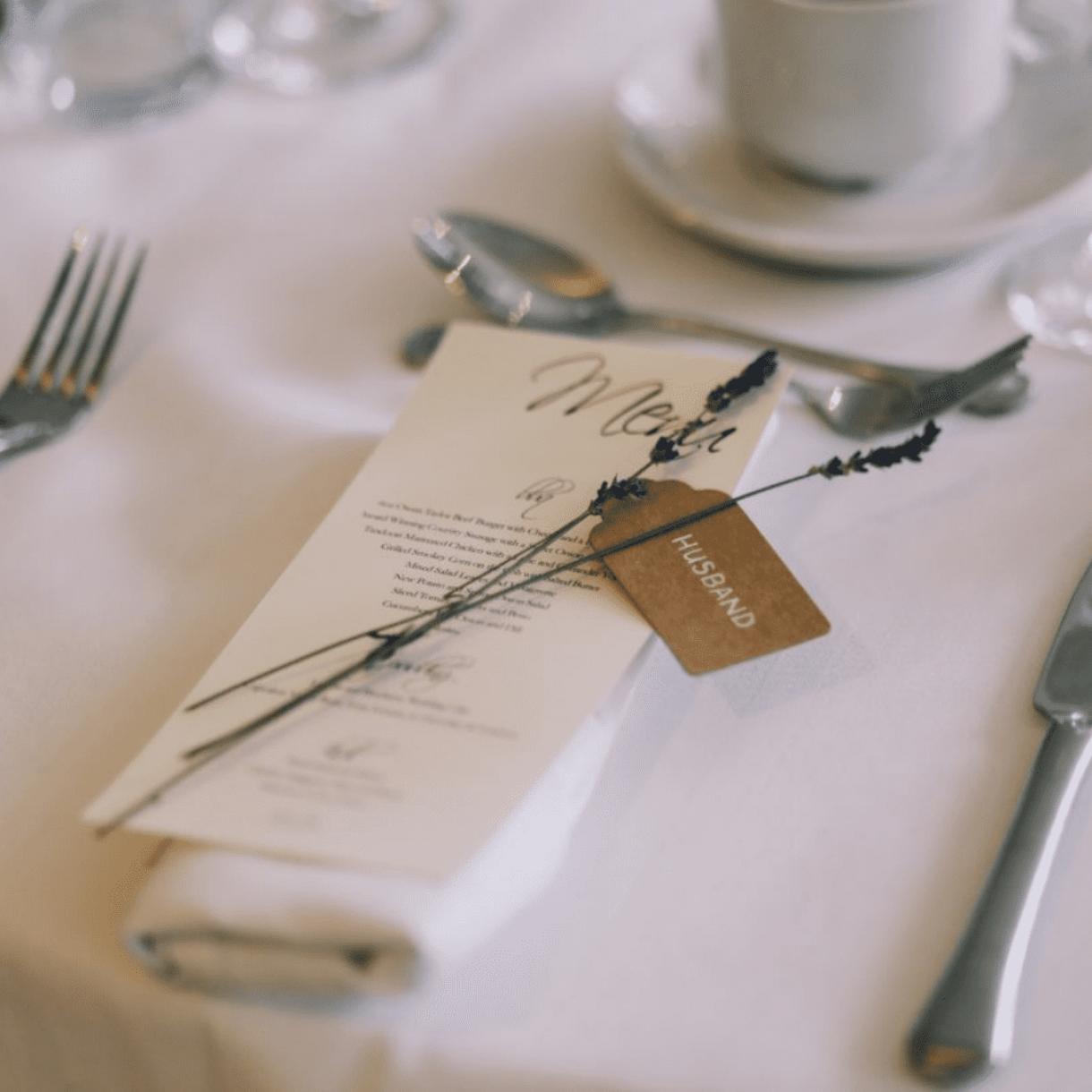 Triunfa con el menú de tu boda