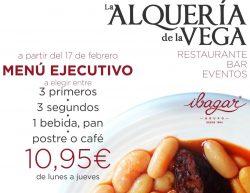 Menu Ejecutivo La Alqueria de La Vega Facebook