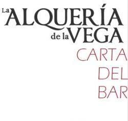 Portada Carta del Bar La Alqueria de La Vega